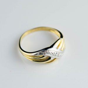 Kuldsõrmus suurus 16.5 - kuld 585