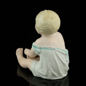 Saksa biskviitportselan klaveri nukk - Piano baby doll -