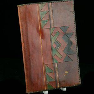 Antiikne nahast dokumendi- rahakott