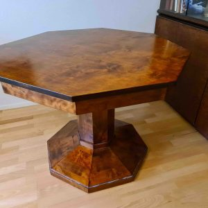Eesti antiikne mööblikomplekt-laud, sofa, 2 tooli ja 2 tugitooli