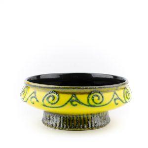 Keraamiline kauss kollane-Strehla Keramik 1960-70a Saksa