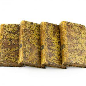 Ingliskeelsed raamatud 1-4 osa 1829 aastast, Life and voyages of C.Columbus