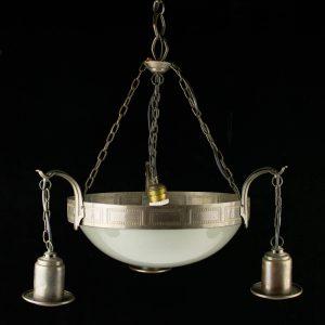 Juugend stiilis laelamp, 1 klaaskuppel