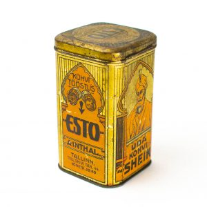 EW-aegne plekist karp-Ubakohvi Sheik, Kohvi Tööstus ESTO A.Inthal