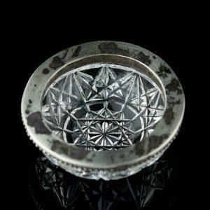 EW soolatoos, kristall, hõbe 875 äär