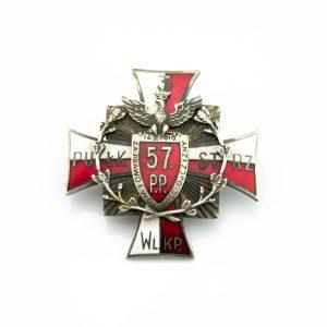 Poola 57 jalaväerügemendi 3 pataljoni märk