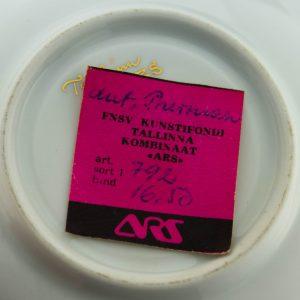 ARS-i portselanist tass Südamed 1978a BRONEERITUD