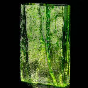 Suur roheline klaasist vaas, Kaj Blomgvist Kumela Soome