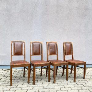 Antiiksed tammest toolid 4 tk