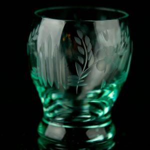 Klaasist 4 pokaali,helesinine