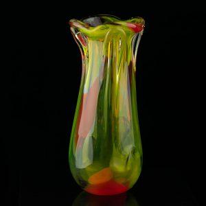 Värvilisest klaasist vaas Tarbeklaas?
