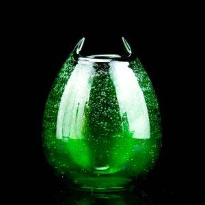 Tarbeklaasi vaas Kassikakk, roheline Elve Tauts