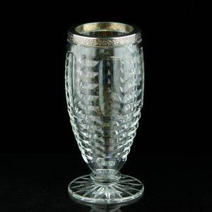 Kristallvaas, 875 hõbeäär