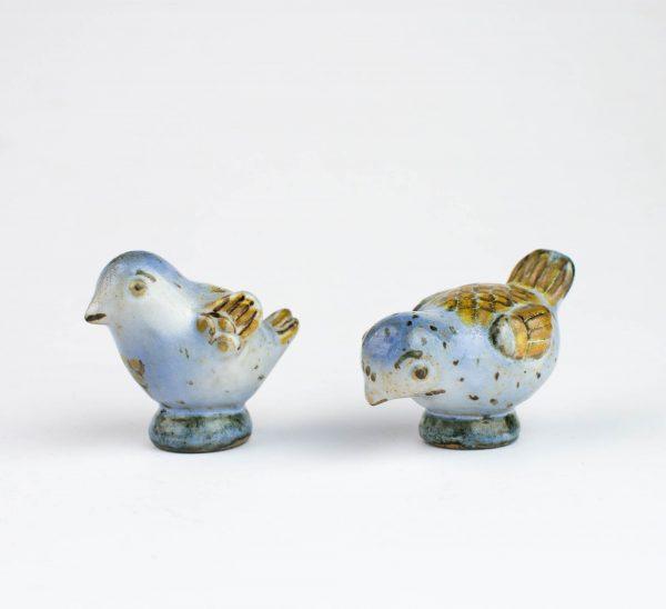 Keraamilised 2 lindu, 19saj.lõpp Taani L.Hiorth, saab osta üksikult tk.77