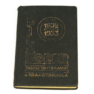 Tasku-Tähtraamat 1932-1933