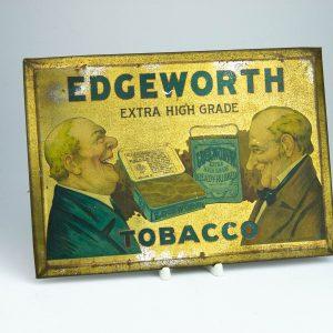Tubaka reklaamsilt, metall