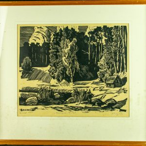 Richard Sagrits (1910-1968) Karepa-Rutja,linool 1967a