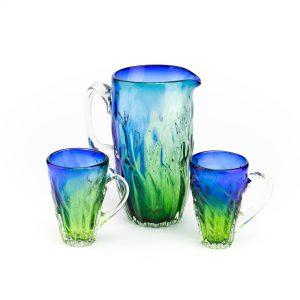 Klaasist kann ja 2 klaasi,sinine-roheline