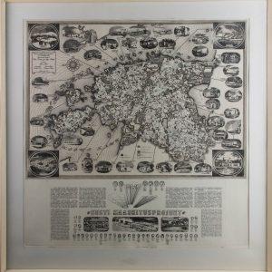 Olev Soansi kaart- Eesti Maaehitusproekt 1985-87a