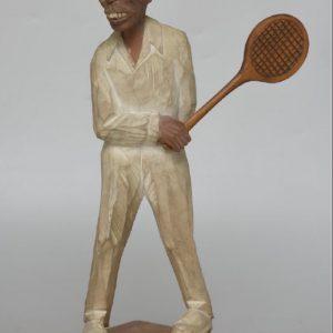 Lorens Larsson puukuju Tennise mängija
