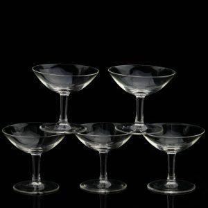 Klaasist likööripitsid 5 tk