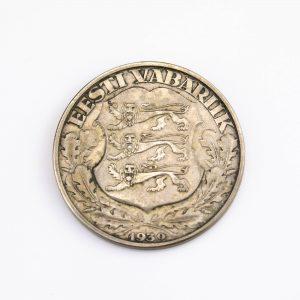 EW münt 2krooni 1932, Tartu Ülikool