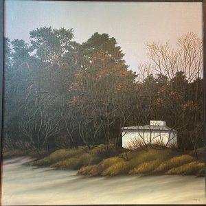 Toomas Vint õlimaal Majake metsa veeres,1983a