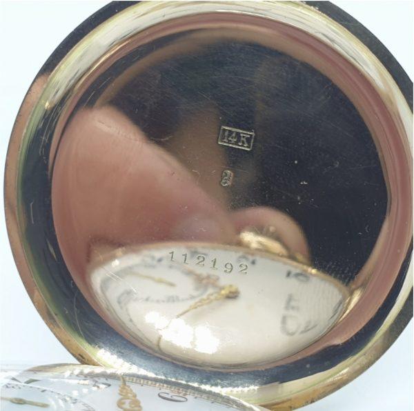 Taskuuur Paul Buhre-Bure, kuld 14karaati