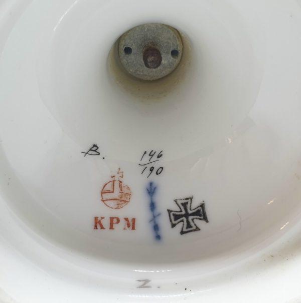 Portselanvaas, KPM Berliin, sõjateemaline 1914-17